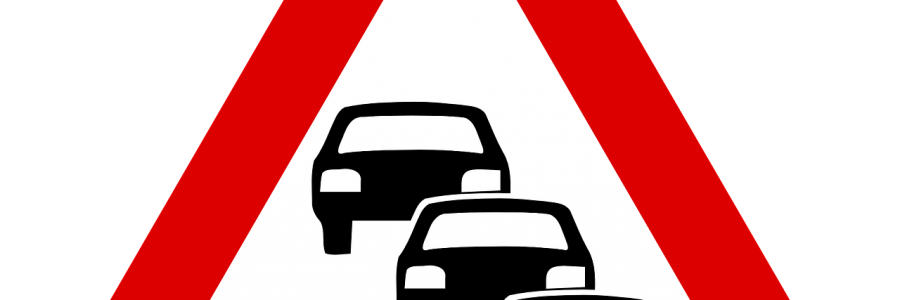 Traffic Queue Traffic Road Street  - Clker-Free-Vector-Images / Pixabay